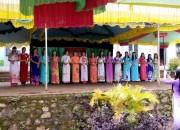 Hội thi phụ nữ tài năng duyên dáng cụm chuyên môn  tại trường Trần Phú